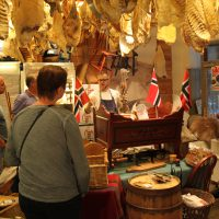 Op bezoek in een Noorse Delicatessezaak