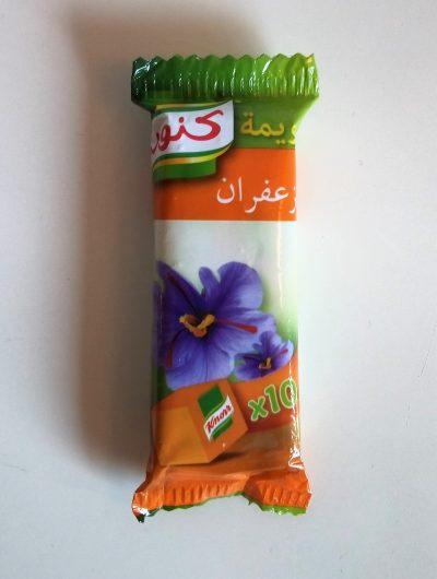 Bouillonblokje: saffraan