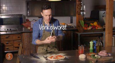 Filmpje: Pizza met worst en gorgonzola – 'iets minder less is ook more'