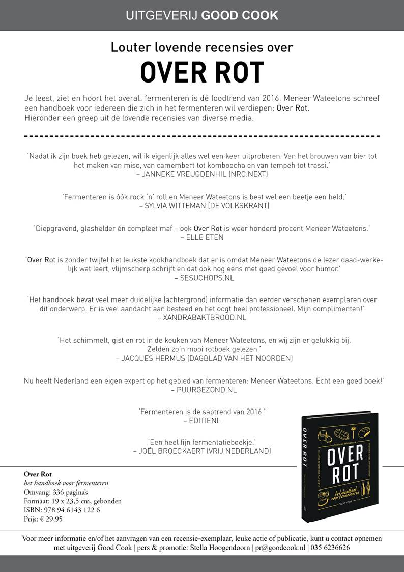 Over Rot: louter lovende recensies