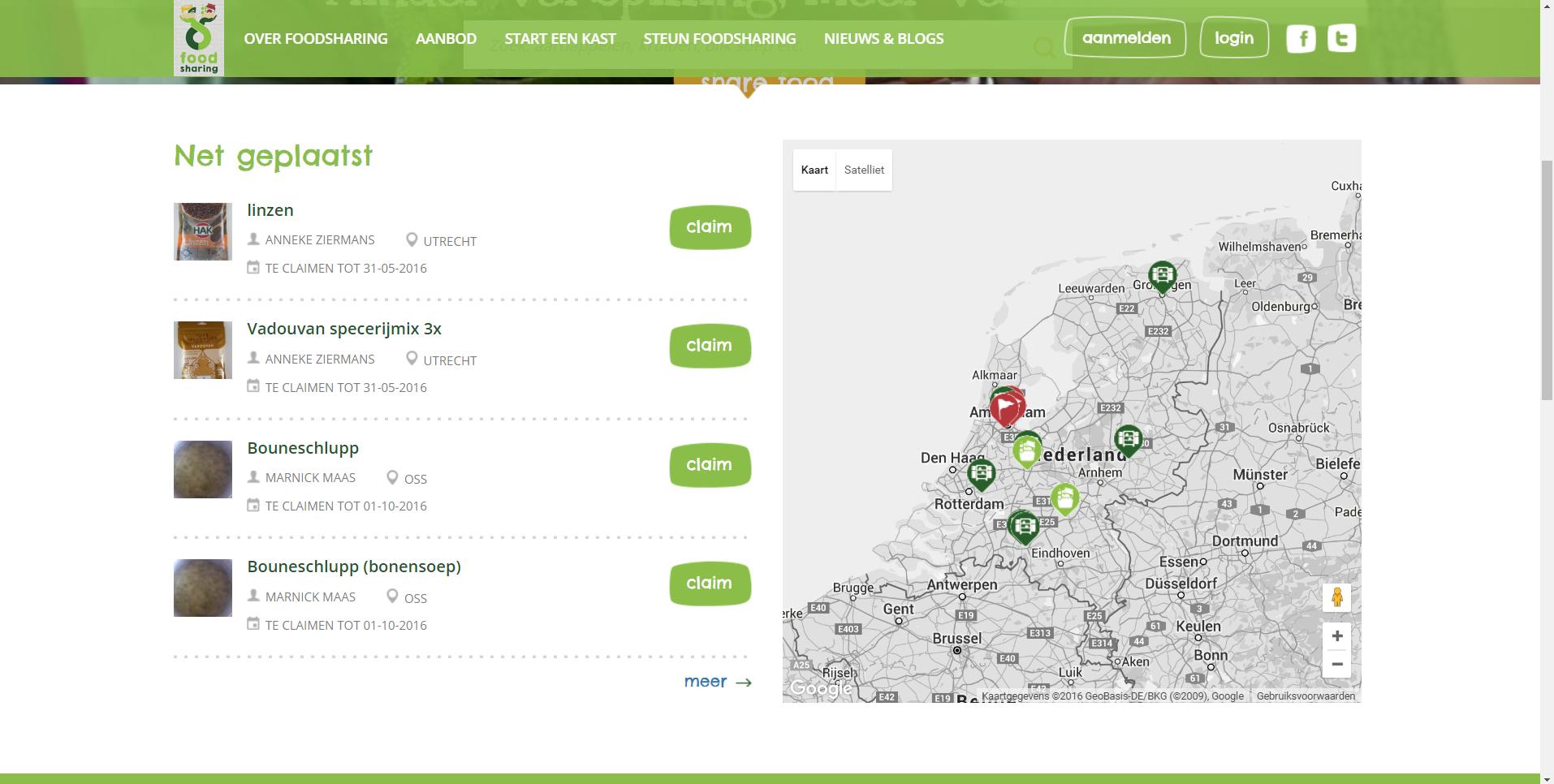 #instockchallenge. No food waste apps en sites en het succes van Hak Linzen