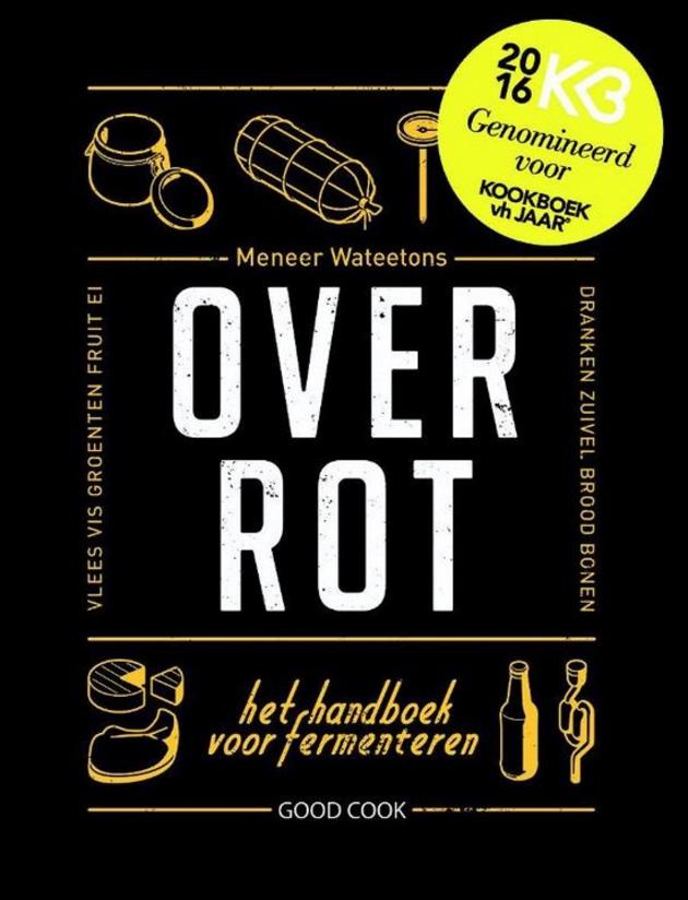 Over Rot genomineerd voor kookboek van het jaar 2016
