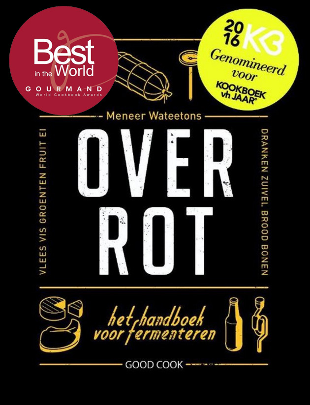 'Over Rot' nationale winnaar Gourmand World Cookbook Awards