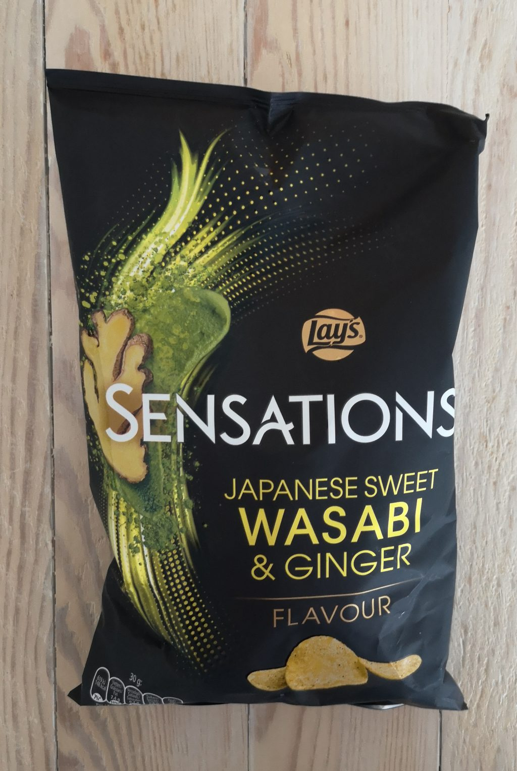Chips van de week: Sensations Sweet Wasabi Ginger