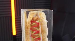 Epoxy hotdog