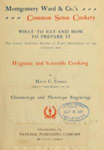 Oude kookboeken Wateetons