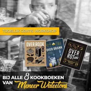 gratis workshop bij aanschaf boeken