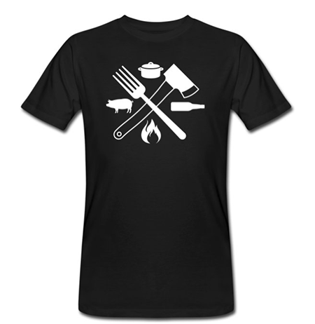 worst en vlees t-shirt design