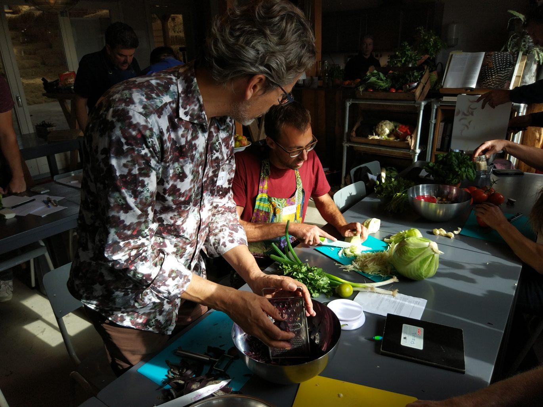 Groente fermenteren les geven