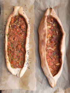 Recept Turkse pide met gehakt